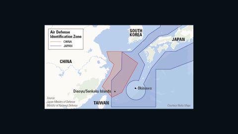 China's Air Defense Identification Zone