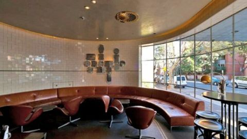 Some of the rooms had a round style like this - (Courtesy Oshin Vartanian)