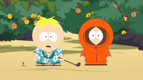 """Is there any character on TV who's died as often as poor Kenny on """"South Park""""? <a href=""""http://www.buzzfeed.com/jamesged/every-single-death-of-kenny-ever-41ea"""" target=""""_blank"""" target=""""_blank"""">The hooded kid has met his maker</a> via death by tree, chicken pox, mosh pit and even giant bird. <a href=""""http://www.southparkstudios.com/news/stc0dg/how-many-times-has-kenny-died"""" target=""""_blank"""" target=""""_blank"""">By some counts</a>, Kenny has bid farewell roughly 89 or 90 times."""