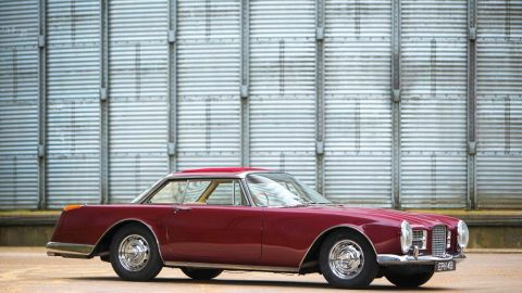 """Pop history mingled with classic car glamor when Ringo Starr's Facel went for a cool $554,000. The Beatles drummer  bought the Facel Vegal """"Facel II"""" - once dubbed """"the world's fastest four-seater"""" in 1964."""