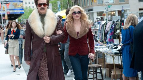 """Will Ferrell and Christina Applegate reprise their """"Anchorman"""" roles in the sequel """"Anchorman 2: The Legend Continues."""""""