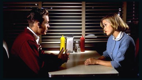 """Walker's first major role was opposite Reese Witherspoon in the 1998 film """"Pleasantville."""""""