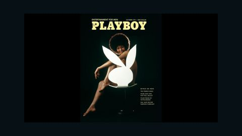 In October 1971, Darine Stern was the first African-American model to appear on a Playboy cover. By putting Stern on the cover, Playboy helped shift the nation's standards of mainstream beauty. Although the magazine had already featured two black Playmates by this time -- Jennifer Jackson (March 1965) and Jean Bell (October 1969) -- nude African-American models were mainly seen in publications produced for and by the black community.