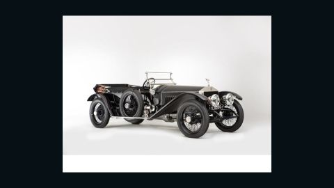 The 101 year-old Rolls Royce Silver Ghost sold on Sunday for $1.36 million. When the car was first built in 1912, the company publicized its ability to travel the 800 mile round journey from London to Edinburgh and back.