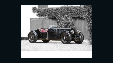"""This Aston Martin """"Ulster"""" built in 1934 went for a princely $2.13 million. A replica of the company's 1934 racing team car, it was made available to amateur racers for just over $1,000 at the time."""