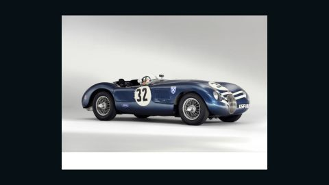 """The 1952 Jaguar """"C-Type"""" was last night's biggest draw at Bonham's historic car auction, fetching $4.8 million when the hammer went down."""