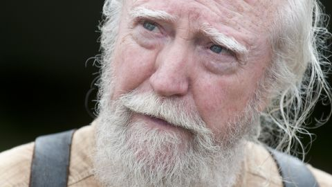 """The death of the wise doctor, Hershel, during """"The Walking Dead's"""" fourth season broke some hearts."""