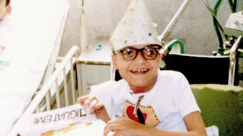 Paulo has lived most of his 43 years in a hospital