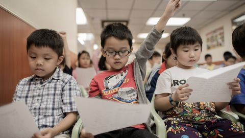 The financial hub of Hong Kong came third in math, and second in reading and science in the OEDC's latest education assessment.