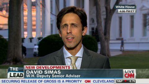 exp Lead intv White House Davis Simas Obamacare implementation _00034716.jpg