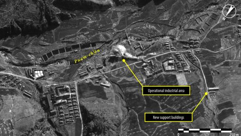 In November 2012, the industrial facility appears to be operational and new support buildings are visible -- a sign of further investment in mining, agriculture and logging production facilities, according to Amnesty.