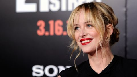 """Dakota Johnson's casting as naive student Anastasia Steele was controversial, but the actress has said that she really """"understands"""" E.L. James' sensual trilogy. """"I think it's an incredible love story,"""" she told <a href=""""http://insidemovies.ew.com/2013/11/16/dakota-johnson-fifty-shades/"""" target=""""_blank"""" target=""""_blank"""">Entertainment Weekly</a>. The 24-year-old, the daughter of Don Johnson and Melanie Griffith, has appeared in """"The Social Network,"""" """"21 Jump Street"""" and the short-lived sitcom """"Ben and Kate."""""""