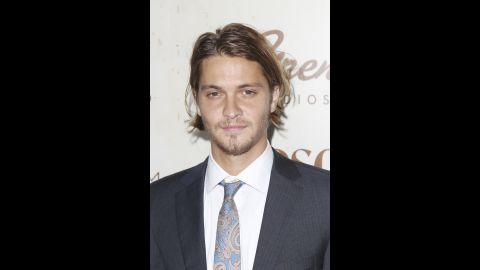 """Luke Grimes was cast as Christian Grey's brother Elliot, who also happens to be in love with Ana's roommate/BFF, Kate. Grimes was on """"True Blood"""" as the vampire James, and he appeared in """"Taken 2"""" and the TV series """"Brothers & Sisters."""""""
