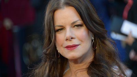 Actress Marcia Gay Harden portrays Christian Grey's mother, Dr. Grace Trevelyan Grey.