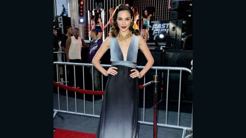 """After """"Fast & Furious"""" actress Gal Gadot was cast as Wonder Woman in """"Batman v Superman: Dawn of Justice,"""" the Internet immediately started buzzing that she was too skinny for the role. <a href=""""http://www.vanityfair.com/hollywood/2013/12/gal-gadot-wonder-woman-skinny-criticism"""" target=""""_blank"""" target=""""_blank"""">The actress reportedly responded</a>, """"I represent the Wonder Women of the new world."""""""