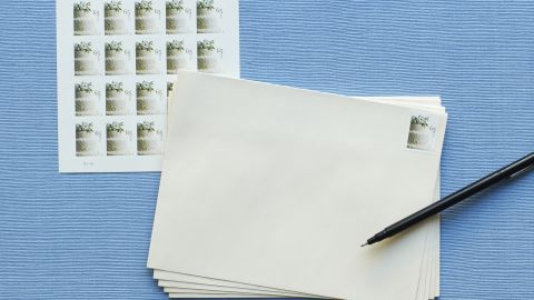 From married couples with the same last name to members of the military -- here's how to get your wedding invitations where they're going in style.