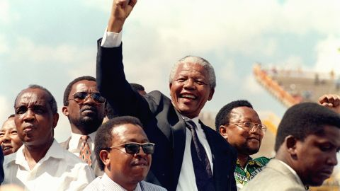 """<a href=""""http://www.cnn.com/2013/12/05/world/africa/nelson-mandela/index.html"""">Nelson Mandela</a>, the prisoner-turned-president who reconciled South Africa after the end of apartheid, died on December 5, according to the country's president, Jacob Zuma. Mandela was 95."""