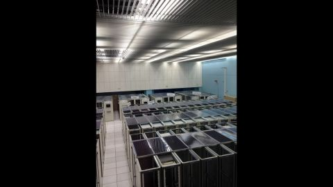This is the CERN Computing Center. Tim Berners-Lee invented the World Wide Web at CERN.