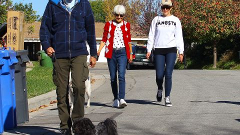In December 2013, Bynes was released from an inpatient treatment facility into her parents' custody, and that same month made her first public appearance on a walk with her parents.