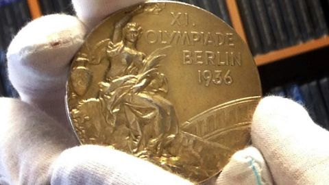 Jesse Owens' 1936 Olympic Gold Medal sold for $1,466,574 at auction in December 2013, setting a record for the highest price paid for Olympic memorabilia. This medal is considered one of the most important in Olympics history and is one of four Owens won at the games in Berlin, spoiling Adolf Hitler's planned showcase of Aryan superiority.