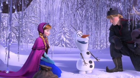 """<strong>Best animated feature film:</strong> """"Frozen"""""""