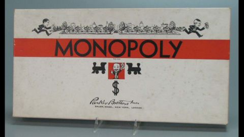 Monopoly was first issued by Parker Brothers in 1935, though there is some controversy about who invented the game. Some say it was Charles Darrow during the Depression; others say it was originally Elizabeth Phillips who called it The Landlord's Game, patented in 1904. Like many games and toys, the look has changed over the years.