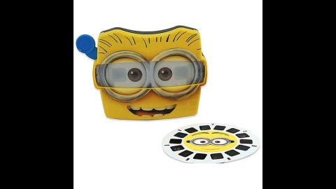 Despicable Me 2 View-Master by Fisher-Price in 2012. The View-Master has been sold to a few different companies, but it wasn't until 1997 that Tyco, View-Master Ideal Group and Mattel Inc. merged. Now, the View-Master continues to be produced under Fisher-Price, a Mattel-owned company. A custom View-Master allows you to build a personalized reel using whatever photos you choose.