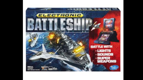"""Electronic Battleship by Milton Bradley in 2013. """"You sunk my battleship!"""" Though the electronic battleship game is not new to the market, introduced in 1977, it was one of the first board games to integrate electronics."""
