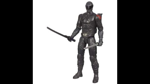 """G.I. Joe Retaliation Ninja Commando Snake Eyes Figure by Hasbro in 2013. G.I. Joe has changed a lot through the years. He has been scaled-down, given more soldiers and weapons, back stories, a cartoon show, movies and even a new enemy: Cobra, """"a ruthless terrorist organization determined to rule the world."""""""