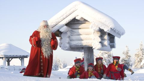 For the citizens of Finland, Rovaniemi's location just north of the Arctic Circle makes it Christmas headquarters. Children bake gingerbread cookies with Mrs. Claus, enroll in Elf School and write wish lists with a traditional quill.