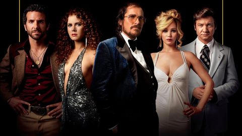 """<strong>Best picture nominees: </strong>""""American Hustle"""" (pictured), <strong>""""</strong>12 Years a Slave,"""" """"The Wolf of Wall Street,"""" """"Captain Phillips,"""" """"Her,"""" """"Gravity,"""" """"Dallas Buyers Club,"""" """"Nebraska"""" and """"Philomena"""""""