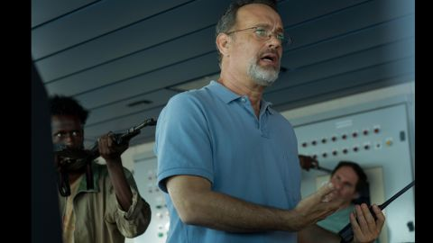 """<strong>Best adapted screenplay nominees: </strong>Billy Ray for """"Captain Phillips"""" (actor Tom Hanks pictured); Richard Linklater, Julie Delpy and Ethan Hawke for """"Before Midnight""""; Steve Coogan and Jeff Pope for """"Philomena""""; John Ridley for """"12 Years a Slave""""; and Terence Winter for """"The Wolf of Wall Street"""""""