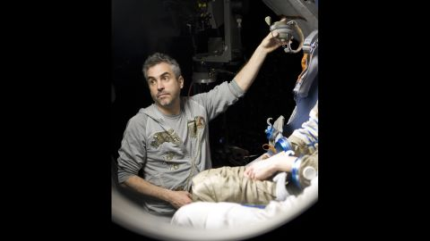 """<strong>Best director nominees:</strong> Alfonso Cuaron (pictured) for """"Gravity,"""" David O. Russell for """"American Hustle,"""" Alexander Payne for """"Nebraska,"""" Steve McQueen for """"12 Years a Slave"""" and Martin Scorsese for """"The Wolf of Wall Street"""""""