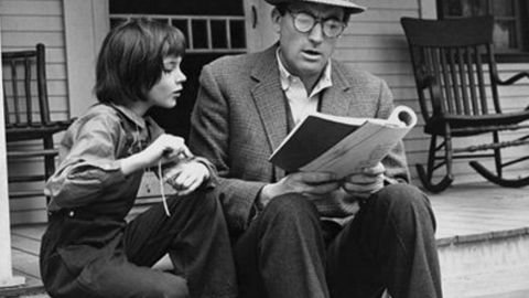 """<strong>""""To Kill a Mockingbird"""":</strong> Harper Lee's only novel, a huge best-seller, won the 1960 Pulitzer Prize for fiction. The story, told through the eyes of a child, is about race and justice in Depression-era Alabama, and lawyer Atticus Finch -- the narrator's father -- has become a model for a righteous, soft-spoken hero. The 1962 film is equally beloved and earned Gregory Peck an Oscar for his performance as Atticus."""
