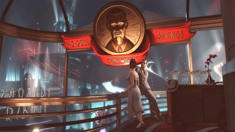 Rapture showcases an extravagant underwater metropolis that drips with class (and seawater).