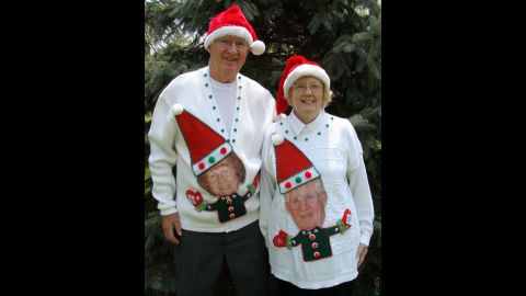 """Of course, there's a time to be goofy, funny and high-spirited around the holidays, too. There's just something about wacky holiday sweaters that makes people smile, said <a href=""""http://www.myuglychristmassweater.com/"""" target=""""_blank"""" target=""""_blank"""">MyUglyChristmasSweater.com</a> owner Anne Marie Blackman."""