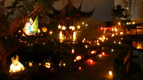 Vancouver, British Columbia, hosts the Winter Solstice Lantern Festival to mark the year's shortest day.