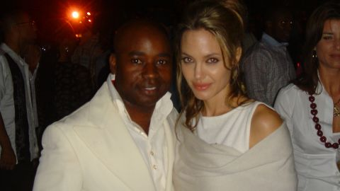 His A-listed clientele ranges from Hollywood superstars, such as Angelina Jolie ...