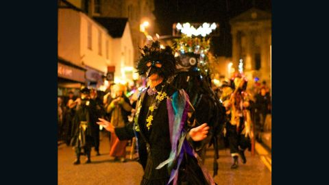 The Montol Festival is a fun mix of pagan customs and more recent Christmas traditions that were once common throughout Cornwall, England.