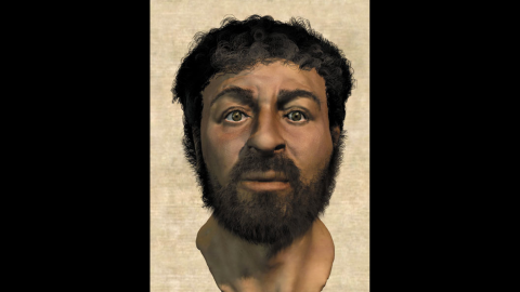 This illustration from the BBC Library depicts what scientists believe Jesus might have looked like, based on the skull of a man they found from that time period.