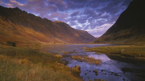 """Aonach Eagach, a vertiginous, wind-raked mountain ridge that looms over Scotland's Glen Coe, is as close as the real world gets to """"World of Warcraft's"""" Northend Storm Peaks."""