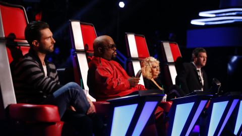 """<strong>Winner: """"The Voice"""" </strong>-<strong> </strong>That OTHER singing talent show now has more buzz than the """"Idol"""" whatchamacallit. """"The Voice's"""" audience numbers have been consistently strong and its judging group of Blake Shelton, Christina Aguilera, Adam Levine and Cee-Lo Green have an easy camaraderie. What's not to like?"""