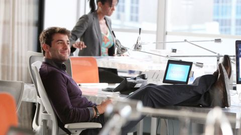 """<strong>Winner: James Wolk </strong>-<strong> </strong>""""Mad Men"""" had an uneven year, but that Bob Benson character had everybody talking. And """"The Crazy Ones"""" is still finding its footing, but art director Zach Cropper knows how to mix it up with Robin Williams' Simon Roberts. Wolk plays both Benson and Cropper. Expect to see a lot more of him."""