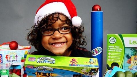 """Looking for ways to make the holiday more meaningful than a toy or stuffed animal? Read on for unique gift-giving suggestions from parents around the country.<br /><br />Amanda Rodriguez's 5-year-old son spent time at the Children's National Medical Center in Washington earlier this year. To thank the hospital, the <a href=""""http://dudemom.com/"""" target=""""_blank"""" target=""""_blank"""">Dude Mom blogger</a> had him select gifts to help fill its toy closet for children who won't be home for the holidays."""