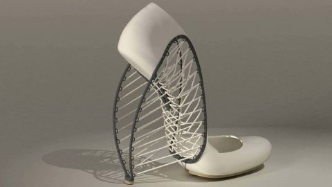 """""""At the beginning, I was very suspicious of 3D printing"""" says designer <a href=""""http://showtime.arts.ac.uk/MarlaMarchant"""" target=""""_blank"""" target=""""_blank"""">Marla Marchant</a>. """"Only when I saw the first pieces I realized the accuracy of small detail and unlimited possibilities."""" Her interest led to these futuristic heels."""