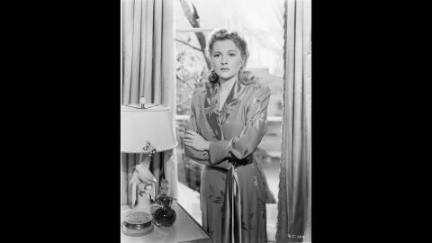 """Fontaine won the Best Actress Oscar for her role in another Hitchcock film, """"Suspicion,"""" in 1941."""