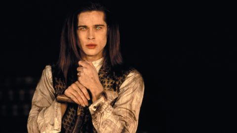 """Brad Pitt  was the vampire with the good heart, Louis de Pointe du Lac, in 1994's """"Interview with a Vampire."""""""