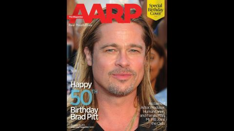 """In honor of Brad Pitt's 50th birthday on December 18, The <a href=""""https://www.facebook.com/AARP"""" target=""""_blank"""" target=""""_blank"""">AARP marked the occasion with a special cover</a> featuring the star. Take a look back at his life and career through the years."""