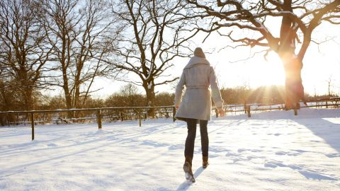 """<strong>Myth: You don't need sunscreen in the winter.</strong><br /><br />Forget bathing suits. Department stores should stock sunscreen with the toboggan hats. """"Because the Earth's surface is closer to the sun during the winter months, we are actually exposed to more harmful rays without even realizing it,"""" said Dr. Robert Guida, a board-certified plastic surgeon in New York.<br /><br />What's more, snow and ice can both reflect up to 80% of harmful UV rays so that they can hit the skin twice, according to the Skin Cancer Foundation. So even in winter, keep in mind these <a href=""""http://www.health.com/health/gallery/0,,20724884,00.html"""" target=""""_blank"""" target=""""_blank"""">five ways to protect against skin cancer</a>. <br />"""