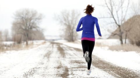 """<strong>Myth: You shouldn't exercise in the cold.</strong><br /><br />Get ready to crawl out from under your comforter and run into the great (and yes, cold) outdoors. According to research published in Medicine & Science in Sports and Exercise, in cold temperatures, race times are actually faster, and quicker paces burn more calories in less time. Plus, that harder, faster workout can spike your endorphin levels -- which, according to a review in Environmental Science and Technology, are already increased just by you being outside. <br /><br />Ready to get started? Follow this guide to <a href=""""http://www.health.com/health/gallery/0,,20753416,00.html"""" target=""""_blank"""" target=""""_blank"""">running in the cold</a>."""